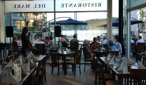 Del Mare - Italiensk Restaurant på brygga i Sandefjord